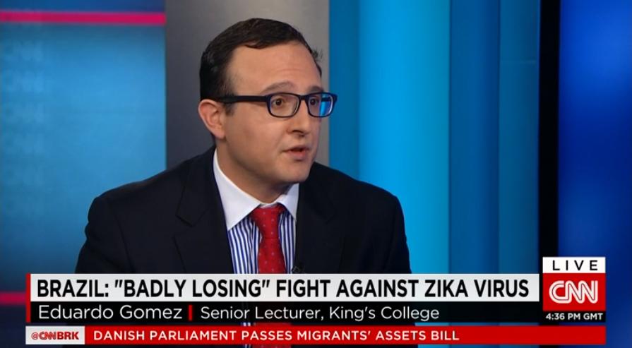 Eduardo Gomez at CNN
